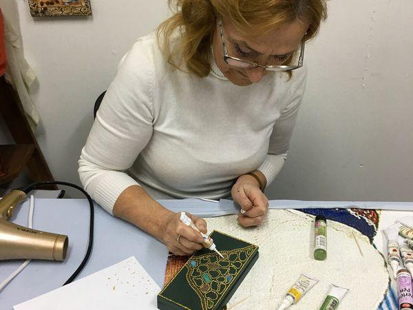 Купюрница Изумруды и Рубины | Ярмарка Мастеров - ручная работа, handmade