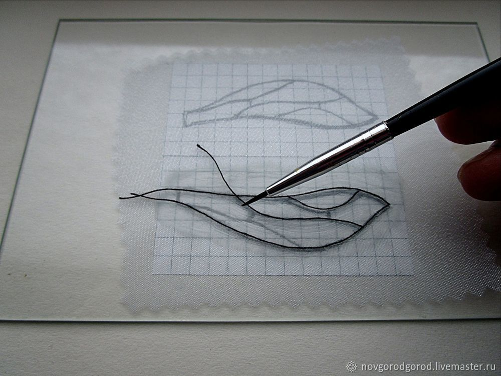 How to Make Insect Wings of Liquid Plastic, фото № 7