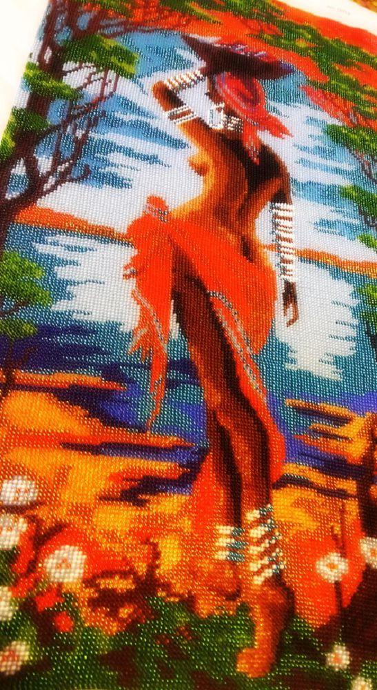 волнующая африка, вышивка бисером африканка, волнующая африка вышивка