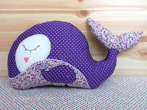 Шьем игрушку-подушку «Китенок». Ярмарка Мастеров - ручная работа, handmade.