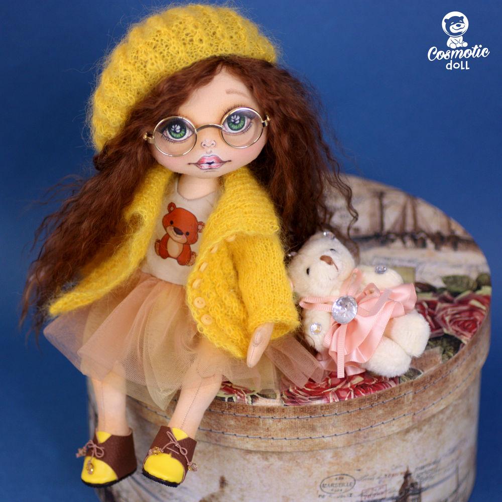 текстильная кукла, кукла девочке