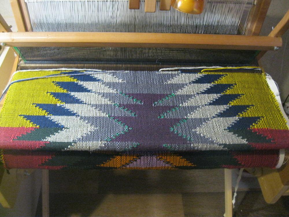 половичок шерстяной, традиционный половик, яркий половик, натуральный коврик, натуральный половик, узорное ткачество