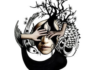 Эмоции в графике от Geraldine Georges. Ярмарка Мастеров - ручная работа, handmade.