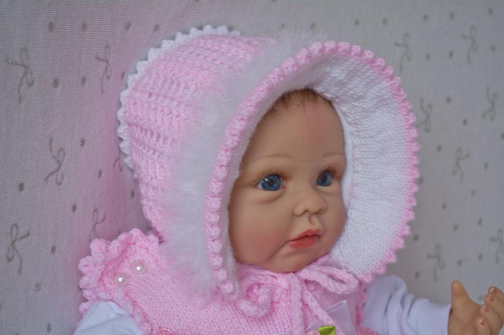 шапочка новорожденному, чепчик, для новородженных