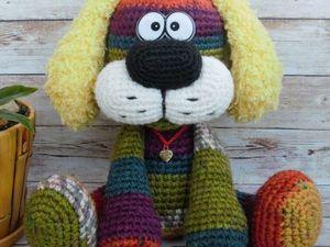 Подробный мастер-класс: Создаем вязаную игрушку «Собака Барк». Ярмарка Мастеров - ручная работа, handmade.