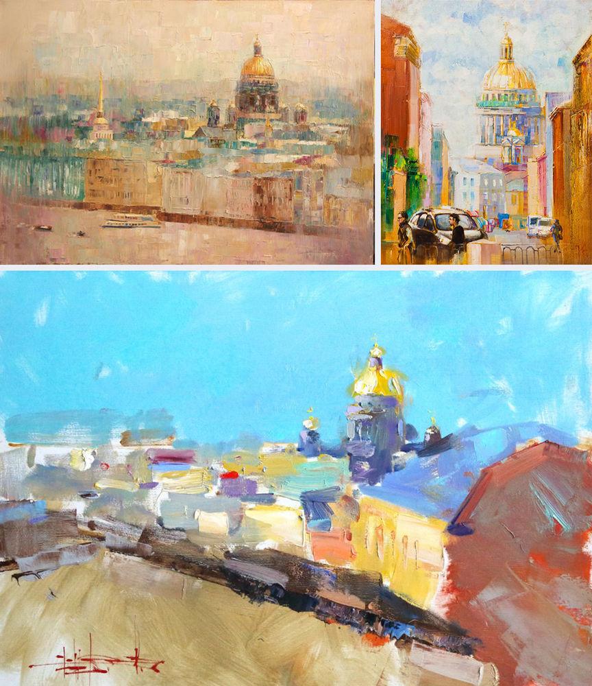 Konstantin Sukhopluev: Artist Painting Rain, фото № 26