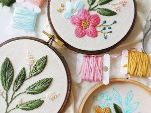 Искусство вышивки от  Caitlin Benson. Ярмарка Мастеров - ручная работа, handmade.