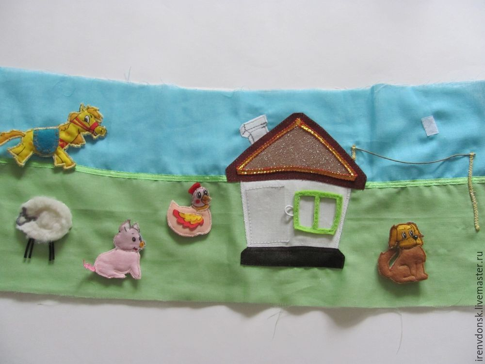 В подарок малышу: делаем развивающий коврик-трансформер. Часть 1, фото № 3