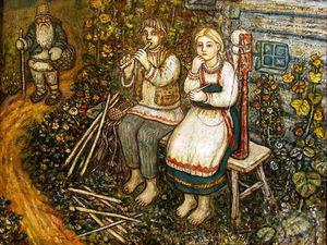 Художник-сказочник Ефим Честняков и его картины. Ярмарка Мастеров - ручная работа, handmade.
