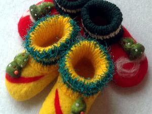 Елочки (желтые). Ярмарка Мастеров - ручная работа, handmade.