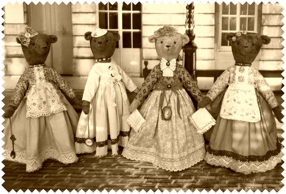 крестьнки горожанки, игрушки под старину