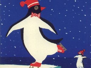 Пингвины  и не только на добрых советских новогодних открытках. Ярмарка Мастеров - ручная работа, handmade.