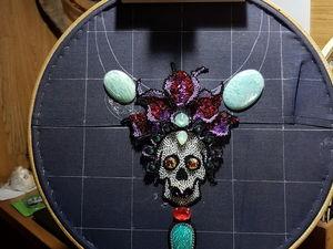 Процесс работы: Катрина Мексиканская. Ярмарка Мастеров - ручная работа, handmade.