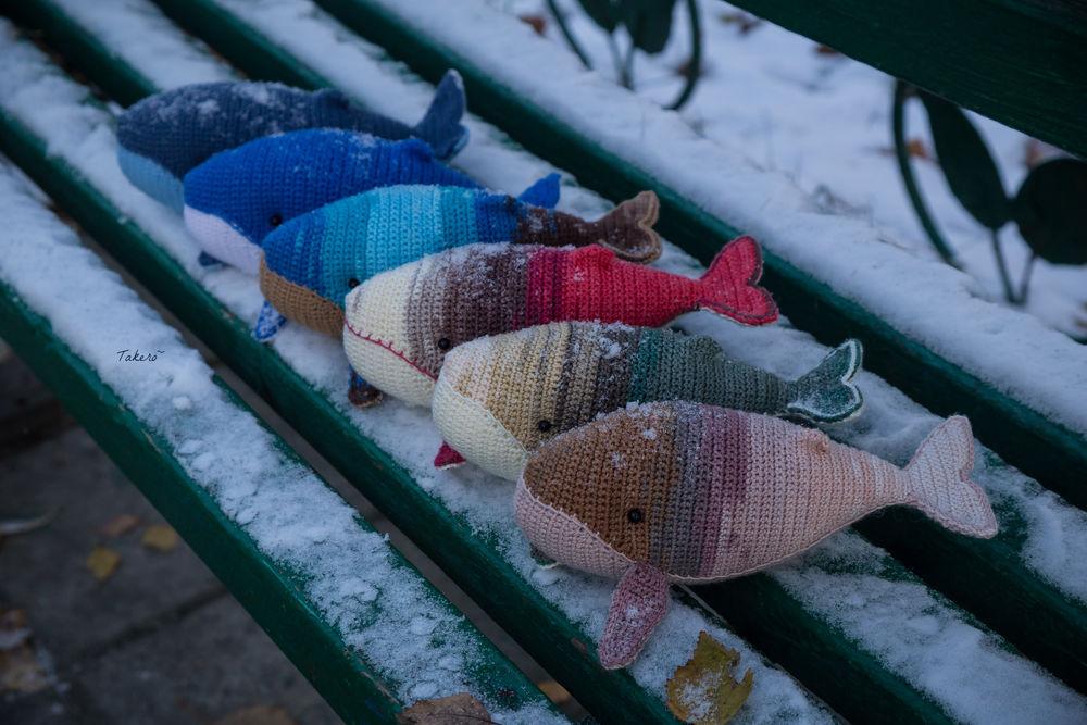 вязание, хвосты