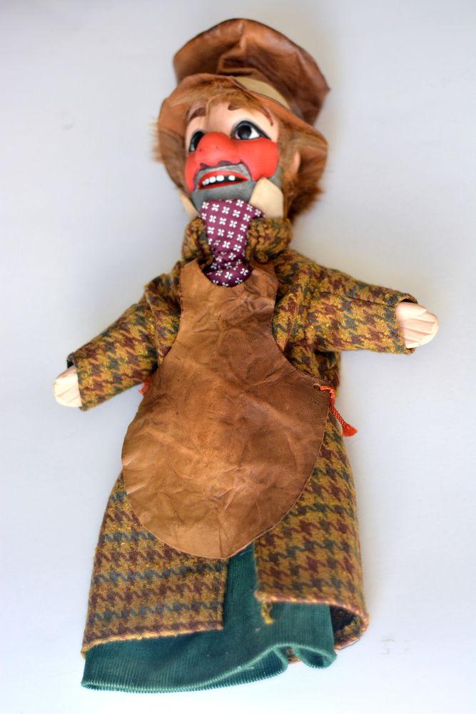 кукольный театр, перчаточная кукла, история о куклах, старинная кукла