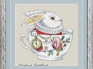 Белый Кролик. Ярмарка Мастеров - ручная работа, handmade.