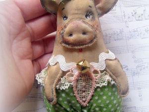 Елочные свинки). Ярмарка Мастеров - ручная работа, handmade.