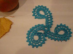 Ирландское кружево: вяжем ажурный треугольный мотив. Видеоурок. Ярмарка Мастеров - ручная работа, handmade.