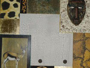 Этнический стиль. Смешанные техники декора: 6-7 разных техник в одной работе.Memory board - Доска для заметок. | Ярмарка Мастеров - ручная работа, handmade