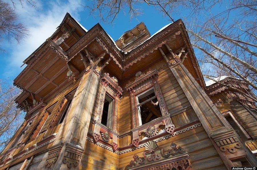 Два удивительных затерянных дома в Костромской области.