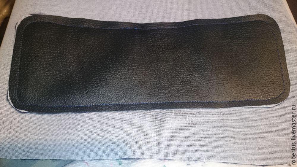 Мастер-класс: как сделать сумку с двойным фермуаром, фото № 13