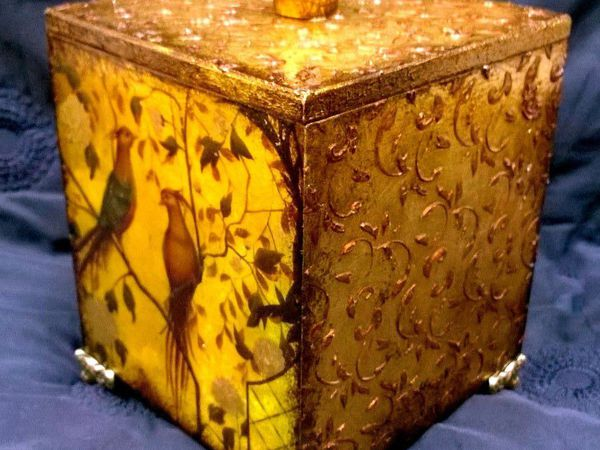 МК Бабушкин коробок | Ярмарка Мастеров - ручная работа, handmade