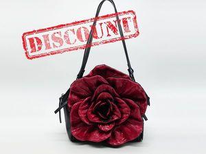 Анонс! Аукцион на кожаные сумки-цветы. Ярмарка Мастеров - ручная работа, handmade.