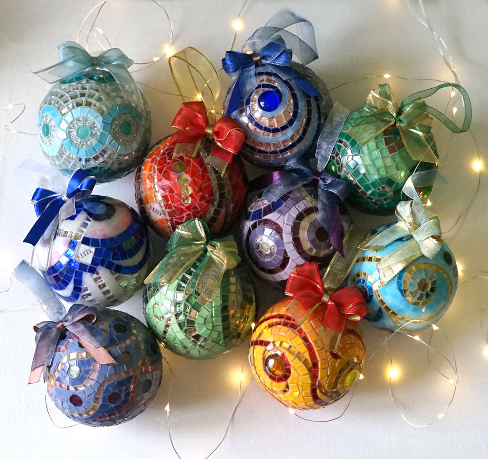 рождественский декор, коллекционный шар, домашний уют, декорирование