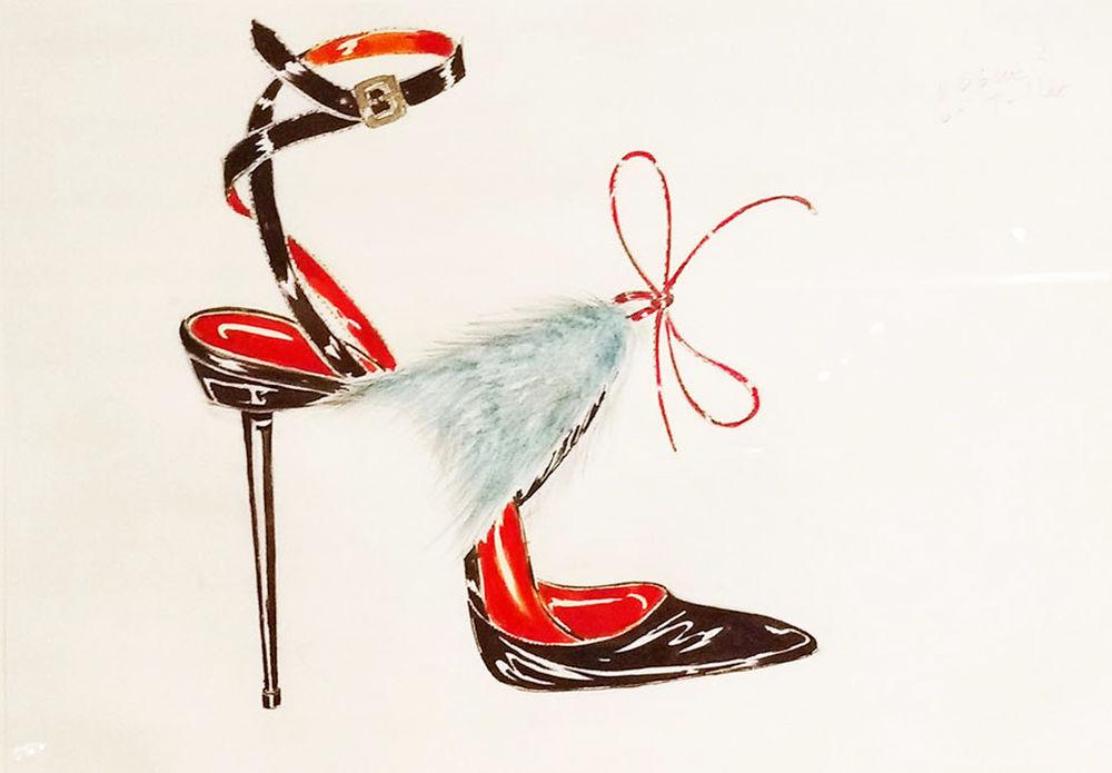 бланик дизайнер обуви