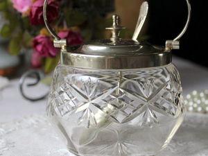 Дополнительные фото антикварной баночки для джема. Ярмарка Мастеров - ручная работа, handmade.