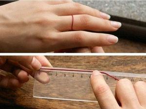 Как узнать размер кольца при помощи линейки и веревки | Ярмарка Мастеров - ручная работа, handmade