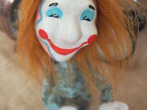 Скидки на марионеток Клоунов к 1 апреля.. Ярмарка Мастеров - ручная работа, handmade.