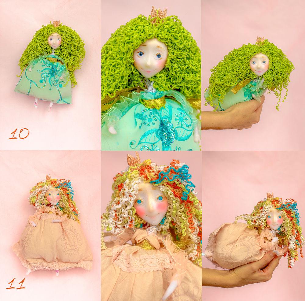 подарки к праздникам, цветная кукла