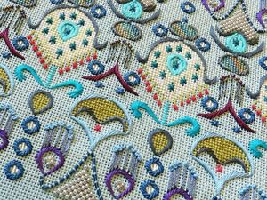 The Splendor of Embroideries by Orna Willis. Livemaster - handmade