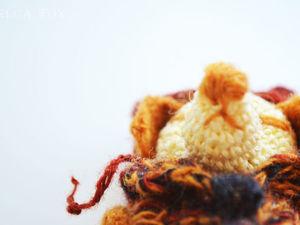 Новый обитатель Atelier Crochet Fox: вязаная собачка Zhu-Zhu (Жу-Жу). Ярмарка Мастеров - ручная работа, handmade.