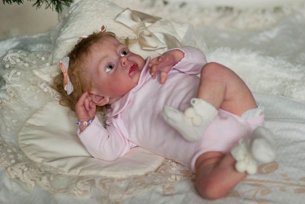 кукла новорожденный