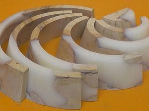 Эксперимент с эпоксидной смолой: создаем деревянную радугу. Ярмарка Мастеров - ручная работа, handmade.