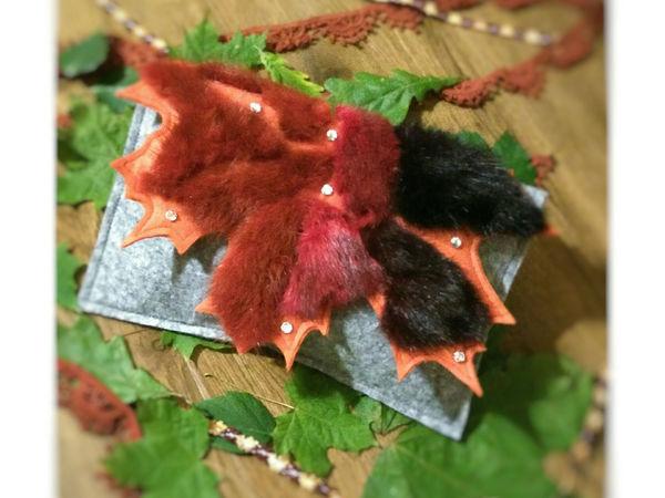 Шьём модный осенний клатч «Осенний шик»   Ярмарка Мастеров - ручная работа, handmade