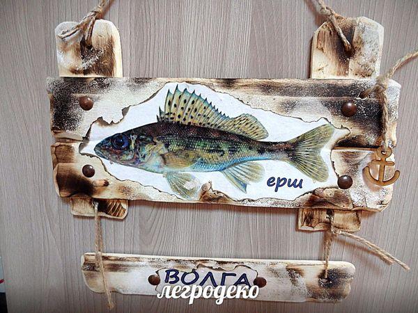 Мастерим ключницу из деревянного ящика   Ярмарка Мастеров - ручная работа, handmade