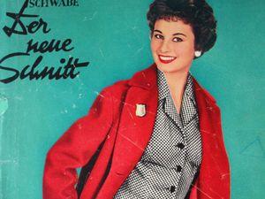 Schwabe der neue Schnitt — журнал мод 9/1956. Ярмарка Мастеров - ручная работа, handmade.