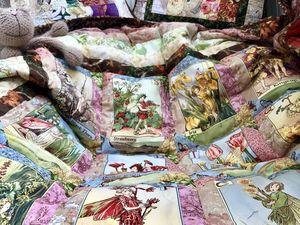 Как сшить одеяло для новорожденной принцессы? Часть 12. Окантовка. Ярмарка Мастеров - ручная работа, handmade.