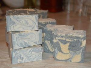 Мыло с нуля «Черная глина». Холодный способ. Ярмарка Мастеров - ручная работа, handmade.