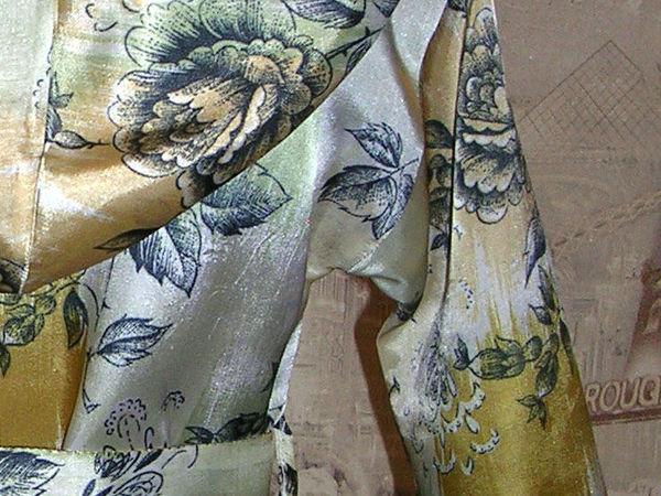 Элегантный атласный домашний халатик | Ярмарка Мастеров - ручная работа, handmade