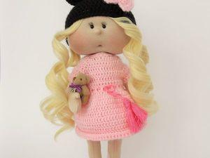 Аукцион сегодня на куклу!. Ярмарка Мастеров - ручная работа, handmade.