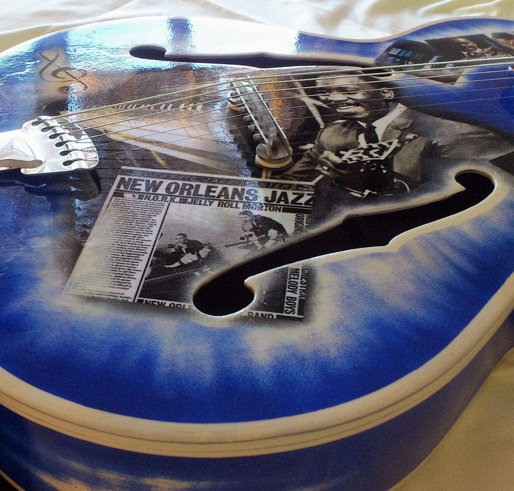 джазовая гитара, переделка