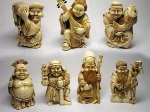 Семь богов счастья. Ярмарка Мастеров - ручная работа, handmade.