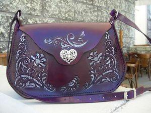 Кожаная сумка ручной работы в подарок от магазина STORIES | Ярмарка Мастеров - ручная работа, handmade