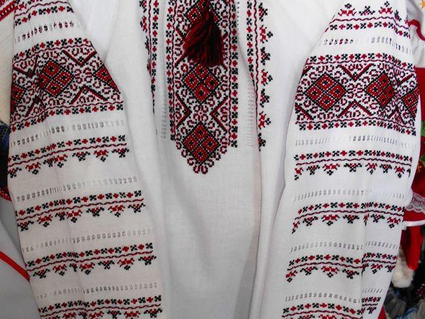 АНОНС:  Белые рубахи белые с чёрно-красной классической вышивкой | Ярмарка Мастеров - ручная работа, handmade