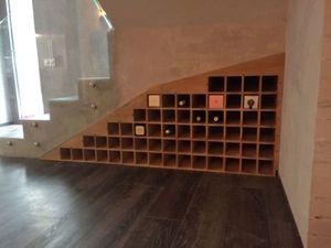 Встроенный стеллаж под вино. Ярмарка Мастеров - ручная работа, handmade.