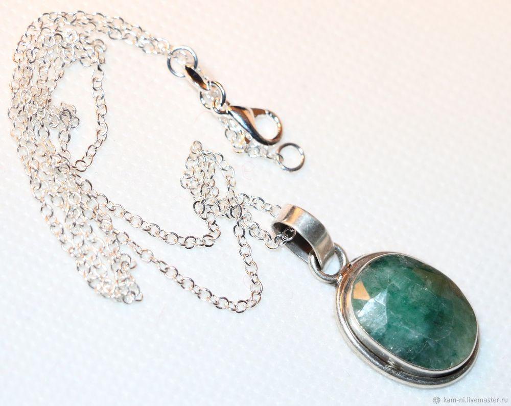 изумруды, природные камни, редкие камни, серебряные серьги, серебряный кулон, подарок, подарок женщине, подарок на новый год